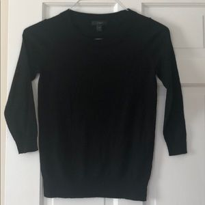 Women's black J Crew sweater